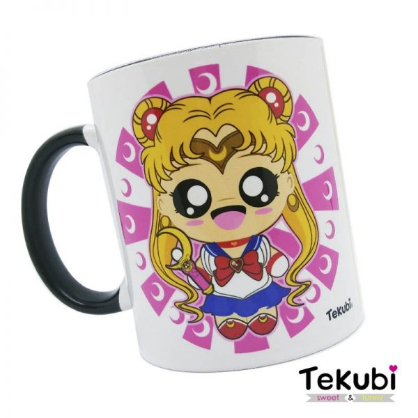 taza sailor moon kawaii fanart